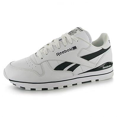 cd0fa1ec89e64 Reebok Classic iconic Leather Clip Mens Trainers - UK 10  Amazon.co.uk   Shoes   Bags