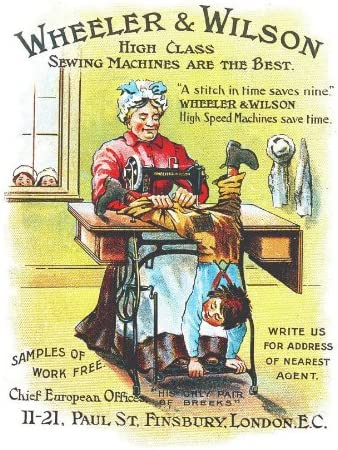 Wheeler y Wilson máquinas de coser de clase alta son la mejor ...