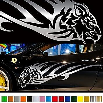 Amazoncom Tiger Car Sticker Car Vinyl Side Graphics Car - Graphic design stickers for cars