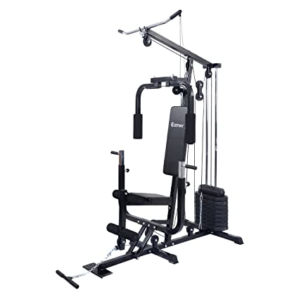 Amazon.com : costway home gym weight training exercise workout