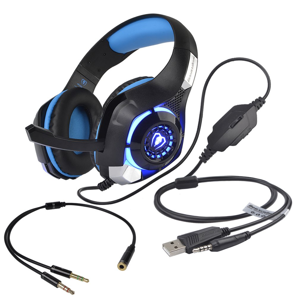 Ausdom Bluetooth 4.2 Headphones Over-ear,Foldable Wireless Headset w/Mic with Aptx Low Latency,Wired/Wireless Headset for TV/PC/Phone(Hands-Free Calling/Volume Control),Noise Isolating Stereo Earphone