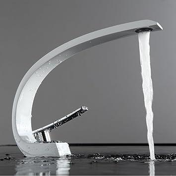 Fapully Wasserhahn Bad Mischbatterie Waschbecken Waschtischarmatur ...