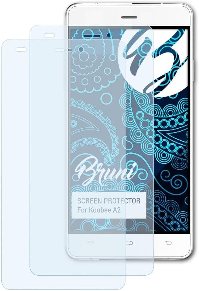 Bruni Película Protectora para Koobee A2 Protector Película, Claro Lámina Protectora (2X): Amazon.es: Electrónica