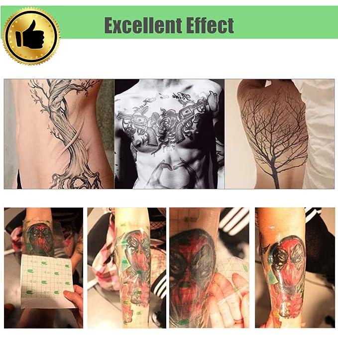 Rollo de vendaje para tatuaje resistente al agua, cinta adhesiva ...