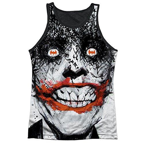 Batman Bats On The Brain Mens Tank Top Sublimation Shirt WHITE XL