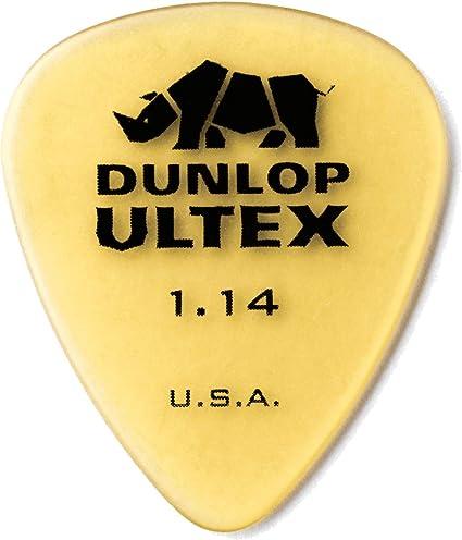 Dunlop 421R114 1.14Mm Ultex Guitar Picks 72 Pack