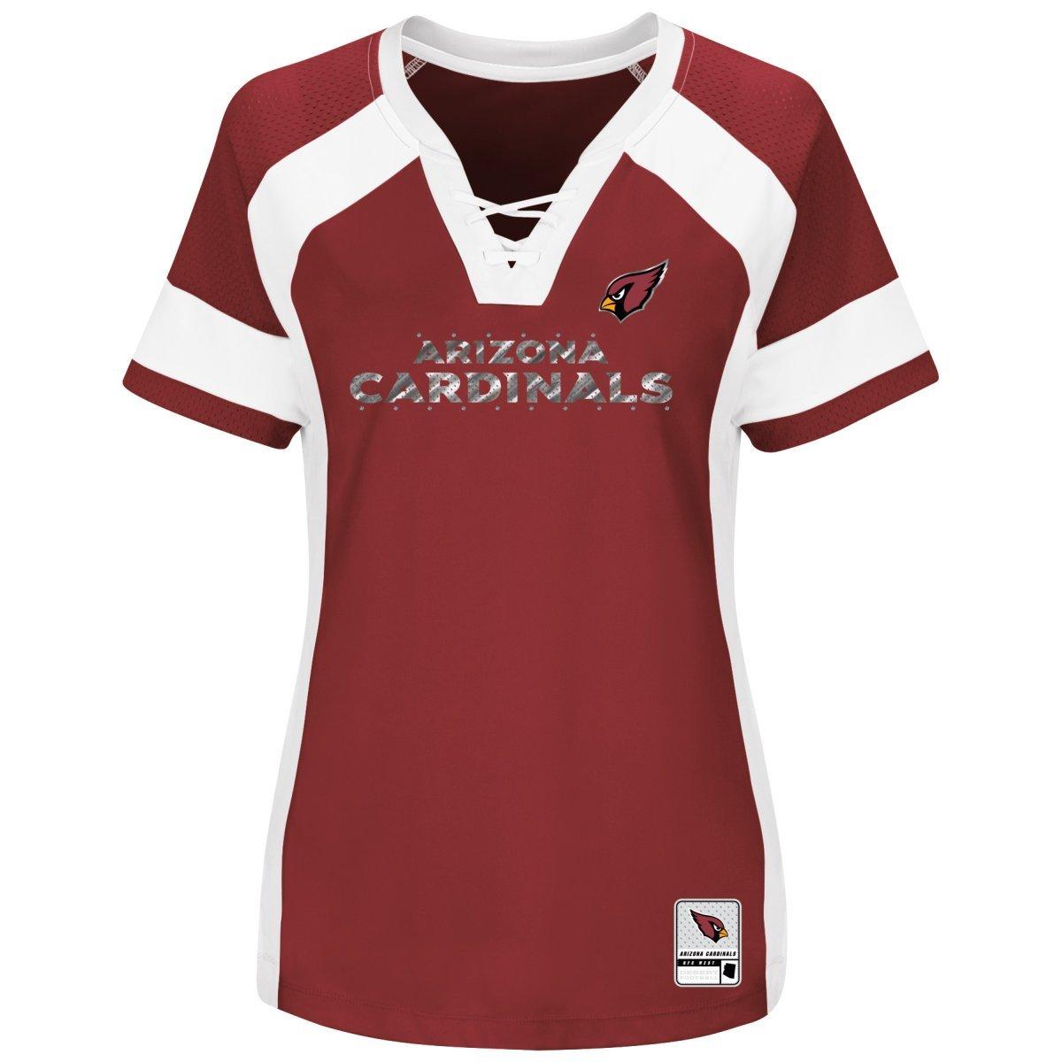 f21ae3252ca Amazon.com   Arizona Cardinals Women s Majestic NFL