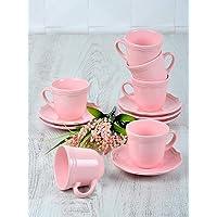 Keramika Romeo Nescafe/Çay Takımı, 6 Kişilik, 12 Parça
