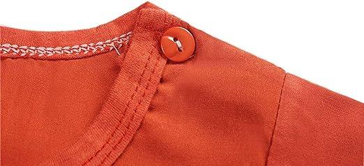 Habigua Little Boys Girls Summer Breathable Pajama Snug Fit Pjs Set Brown