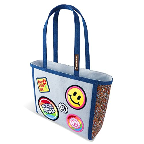 16e140635ddf Hot Chocolate Design Hippie Women s Tote Bag  Amazon.co.uk  Shoes   Bags
