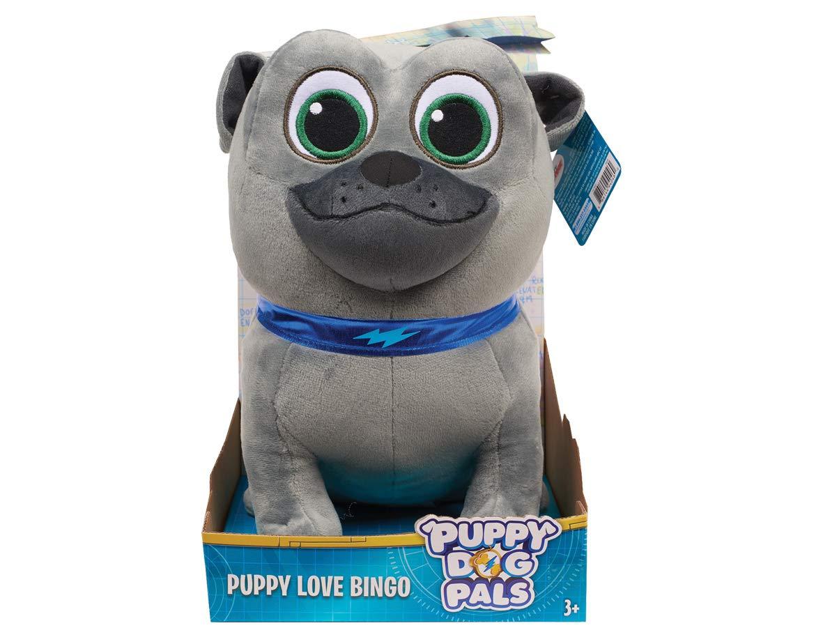 Puppy Dog Pals Medium Plush Bingo Gray Just Play Import 94045