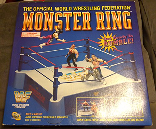 WWF Raw is War Monster Wrestling Ring (Elimination Chamber Toy)