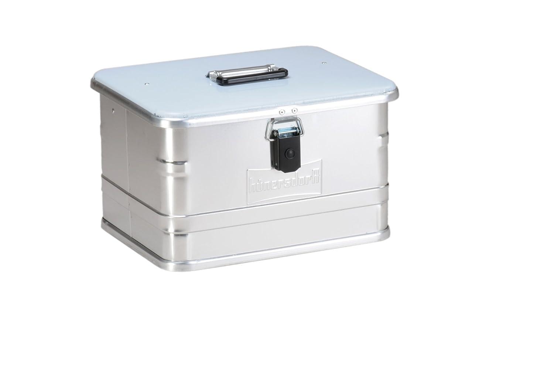 Hü nersdorff ECO-Box Aluminio, 47 L plateada, 380x580x275 mm 47L plateada HNERT 451100