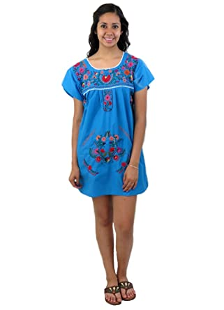 5b3a959d6dd Leos Imports (TM) Mexican Dress Puebla Short at Amazon Women s ...