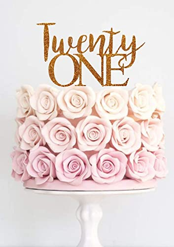 Amazon Twenty One Cake Topper Birthday 21st