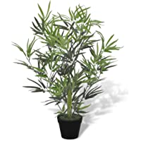 vidaXL Bambú Artificial En Maceta, 80 cm Decorativo