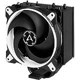 ARCTIC Freezer 34 eSports Edition – Ventola de CPU, Enfriador de CPU Push-Pull, Motor trifásico silencioso, Desde 200 hasta 2000 Rpm, Ventilador PWM 120 mm - Blanco