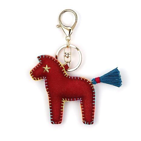 nikang caballo llavero llavero Key Holder Bolsa de ...