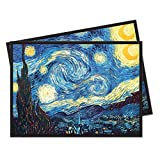 Fine Art Series ''The Starry Night'' Standard (Magic) Deck Protector sleeves (65 count pack)