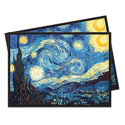 "Fine Art Series ""The Starry Night"" Standard (Magic) Deck Protector"