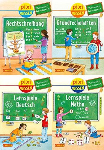 Price comparison product image Pixi Wissen 4er-Set: Basiswissen Grundschule (4 x 1 Exemplar)