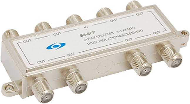 8 Camino de televisión por cable de antena coaxial de CATV ...