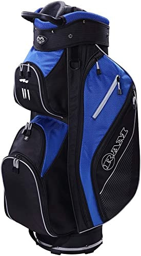 TOURBON Canvas Golf Club Travel Case Lightweight Carry Bag for Men Women