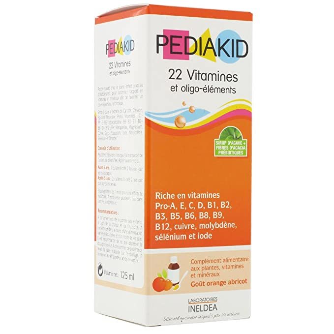 Pediakid 22 Vitamins & Trace Elements 125ml by Pediakid: Amazon.es ...