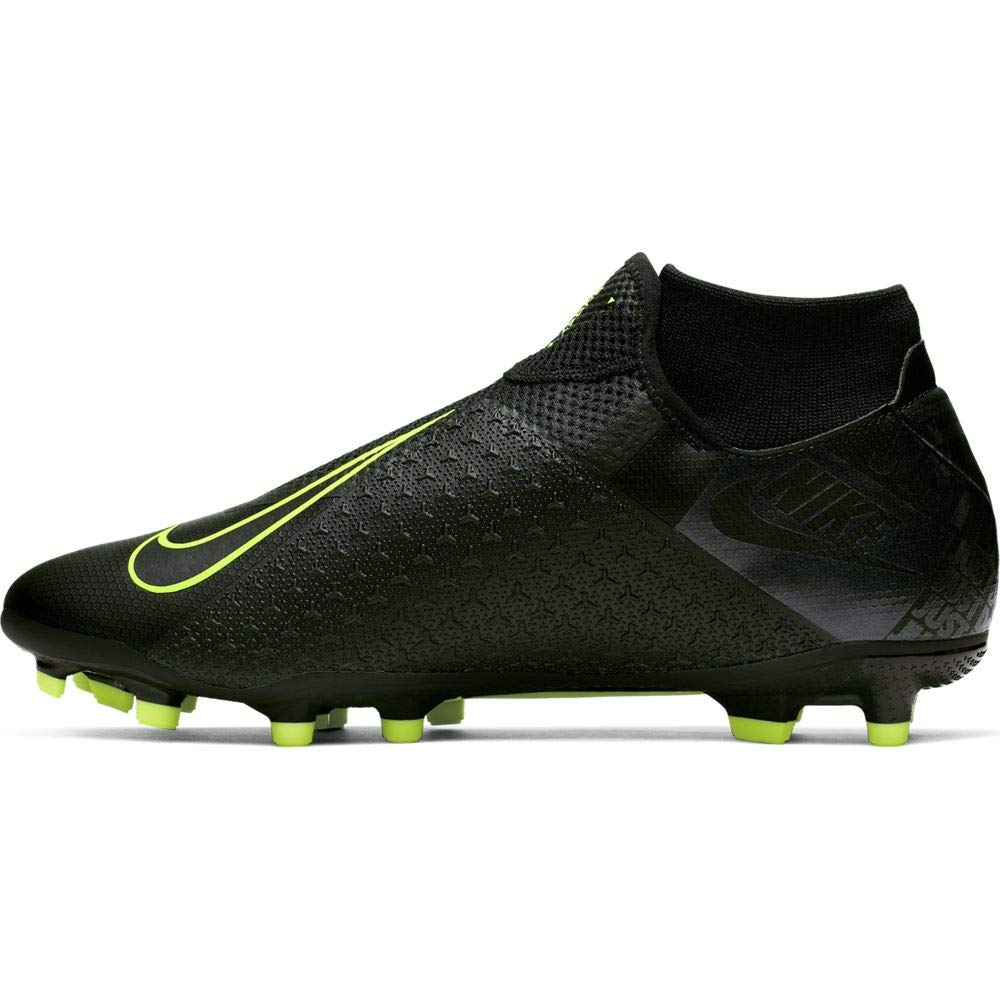Nike Phantom Vision Academy Dynamic Fit MG Multi-Ground Soccer Cleat (11.5, Black) by Nike