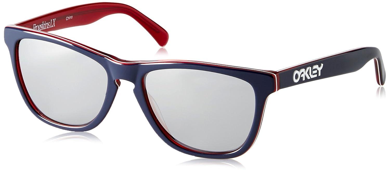 Oakley Men s Frogskins LX OO2043-05 Wayfarer Sunglasses 480285b6c6