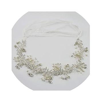 Amazoncom Gold Silver Bridal Wedding Hair Accessory