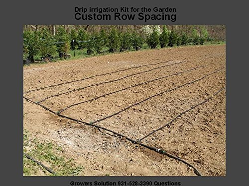Vegtable Garden Drip Jr. Kit – 10 Rows X 50 Ft– Watering Garden Drip Irrigation