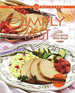 Simply Best >> Weight Watchers Simply The Best 250 Prizewinning Family Recipes