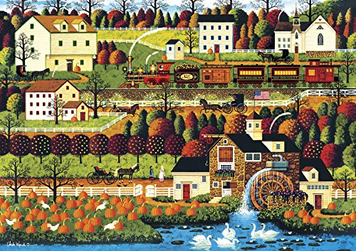 Buffalo Games - Charles Wysocki Americana Collection - Honey Valley - 500 Piece Jigsaw Puzzle