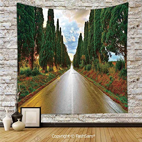 FashSam Tapestry Wall Hanging Large Boulevard with Trees