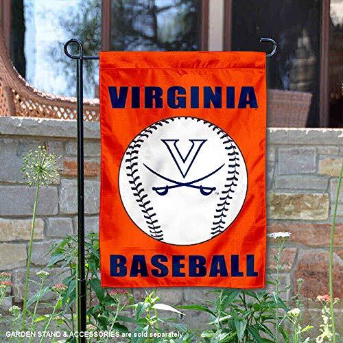 University of Virginia Baseball Garden Flag and Yard Banner