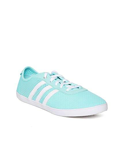 1a6a9cb62a7d Adidas NEO Women Turquoise Blue VS QT VULC Sneakers (5UK)  Buy ...
