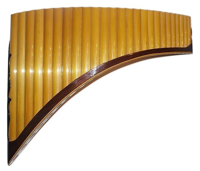 Profesional 25 tubos Tenor - Flauta de Pan Q awary - incluye funda: Amazon.es: Instrumentos musicales