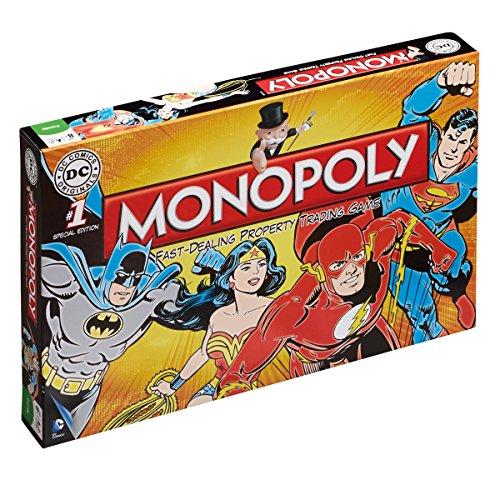 Dc Comics Retro Monopoly Board Game (Games Monopoly Customized)