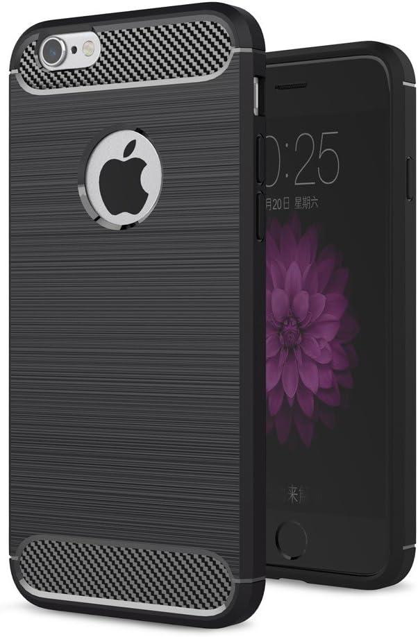 Tope Fino Para Xiaomi Mi 5c | Negro Elegante Diseño Opaco Otoño