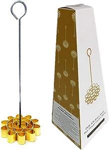 Brass Thai Dessert Kitchenware Mold Lotus Dok Jok Maker Cookies Flower 10.5 cm : 4.13 inches No.1