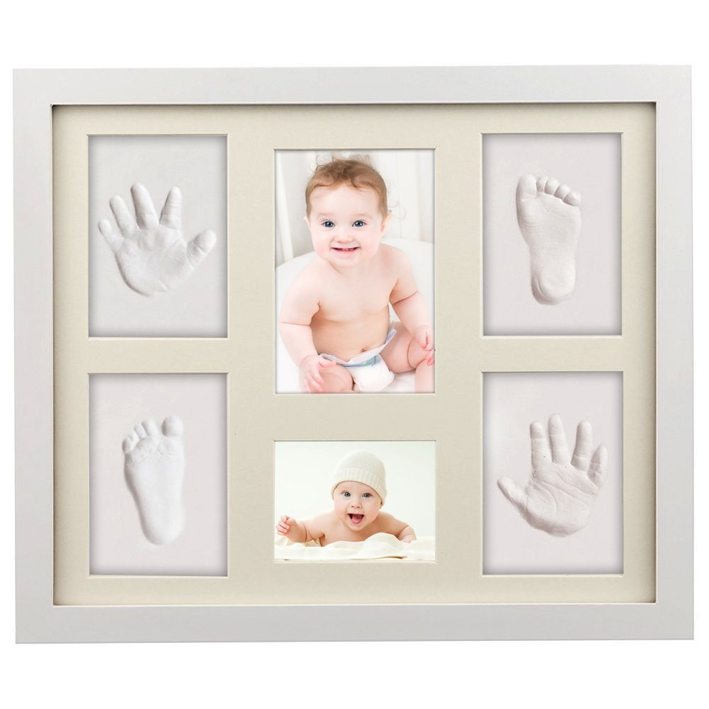 Baby Handabdruck, ToWinle Bilderrahmen Baby Handabdruck und ...