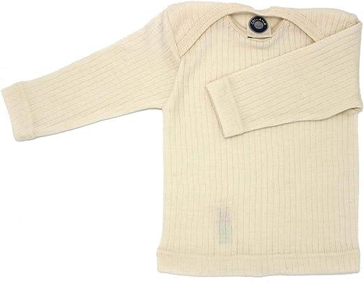 62//68, Hellblau Meliert Cosilana Baby Pants for Boys and Girls 45/% Organic Cotton 35/% Wool 20/% Silk