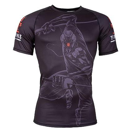 Tatami Rashguard Ninja 2099 - Camiseta de compresión de ...