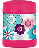 Thermos FUNtainer Food Flask, Floral, 290 ml