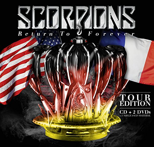 CD : Scorpions - Return to Forever (Tour Edition) (With DVD, With Book, 3 Disc)