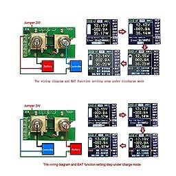 KKmoon DC Multifunctional Wireless Digital Bi-directional Voltage Current Power Meter Ammeter Voltmeter Capacity Coulomb Counter