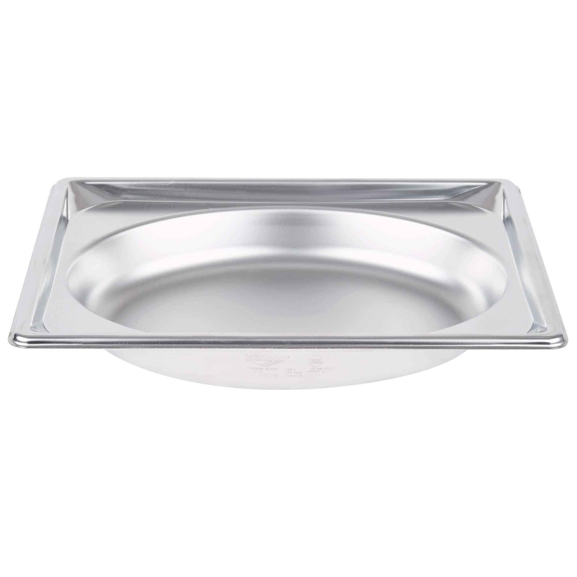 TableTop King 3102015 Super Pan Shape 1/2 Size 2'' Deep Oval Pan by TableTop King