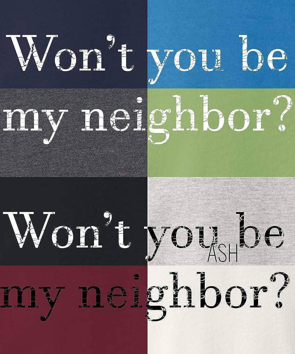 his /& her threads Wont You Be My Neighbor Grunge Graphic Long Sleeve Printed Sweatshirt Shirt
