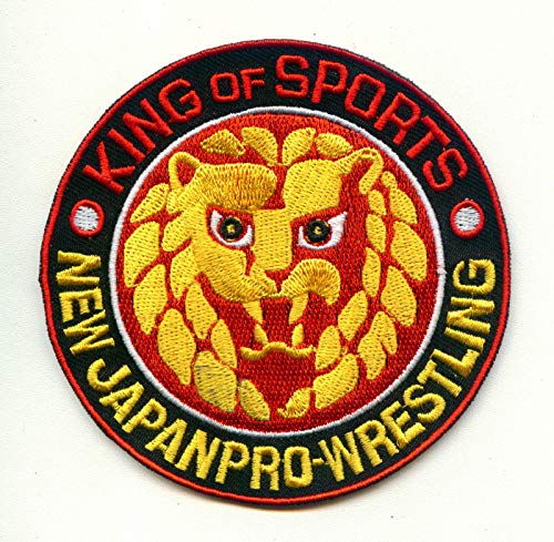 NJPW New Japan PRO Wrestling Iron on Patch Kenny Omega Bullet Club Young Bucks ()